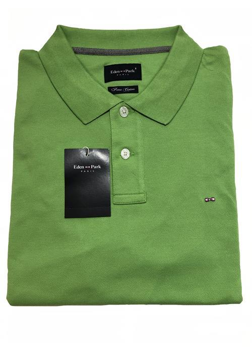 Eden Park<br />Plain Pique Polo (Apple Green)