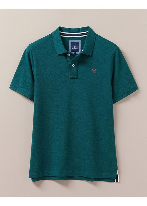 Crew Clothing<br />Classic Pique Polo Shirt (Ivy Marl)