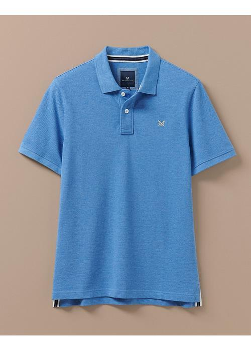 Crew Clothing<br />Classic Pique Polo Shirt (Amalfi Marl)