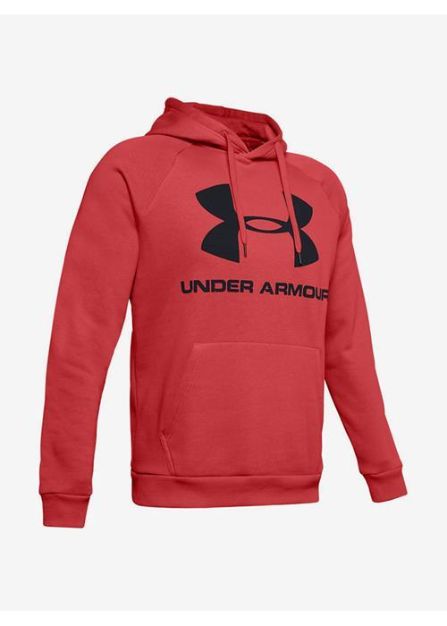 Under Armour<br />Rival Fleece Sportstyle Hoodie (Red)