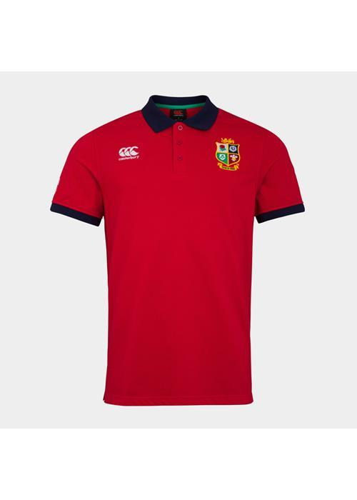Canterbury<br />British Lions Nations Polo Shirt (Red)